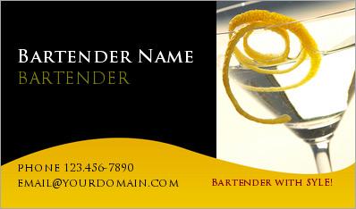 Bartender business cards business cards for bartnders bartender business card 12 colourmoves