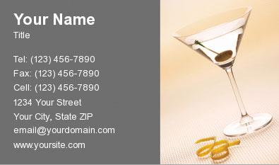 Bartender Business Cards Business Cards For Bartnders
